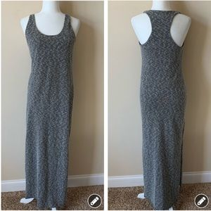 Banana Republic marl stripe maxi dress #1460